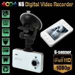 EOO+K6 Vehicle Black box DVR FullHD1080p 2013White-Ver