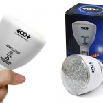 "EOO+LED"" Rechargeable bulb & Handy light 2way"