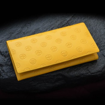 Four Fengshui Gods of Wealth Yellow Wallet