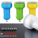 EOO+Dual USB Car Mini Adapter