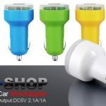 EOO+Dual USB Car Mini Adapter